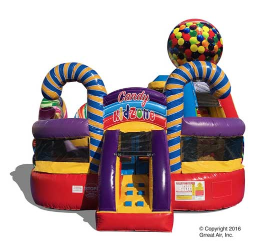 NEW! Candy KidZone 4 in 1 Combo