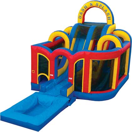 New Dash 'n Splash Obstacle Course