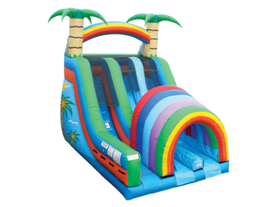 Double Funnel Tunnel  18 Ft. Slide