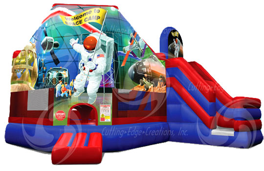 Space Camp 3-in-1 Combo (Jump, Climb, Slide)