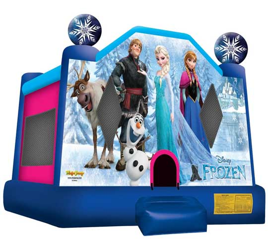 Walt Disney Frozen Bounce House
